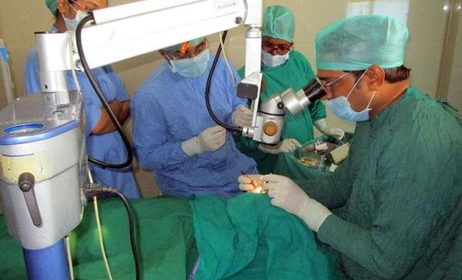 Son bir yılda 11 bin katarakt ameliyatı