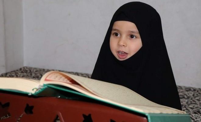 2 yaşında Kur'an okudu, 4 buçuk yaşında hafız oldu