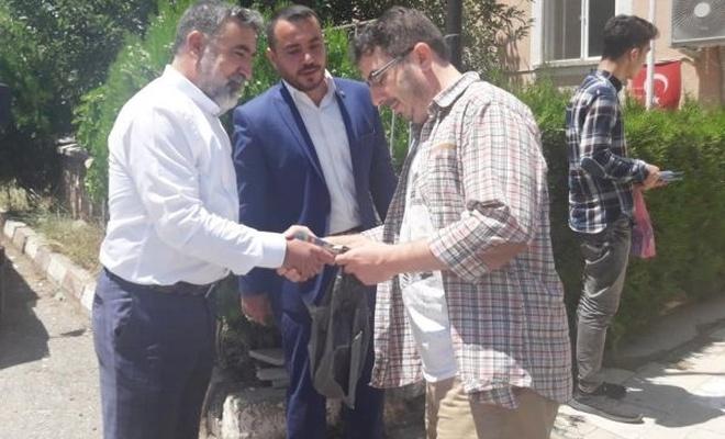 HÜDA PAR milletvekili adayları Tunceli`de esnafı ziyaret etti
