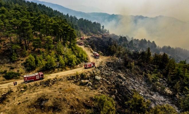 7 ilde yangınlarla mücadele sürüyor