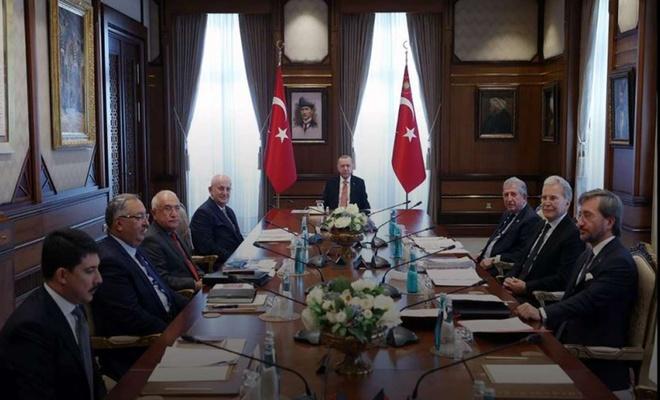 Erdoğan: Yeni ve sivil bir anayasa için çalışmalar kararlılıkla sürdürülüyor