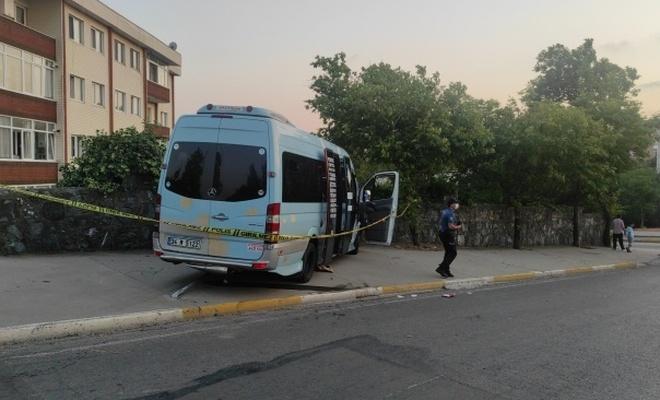 Minibüs şoförüne silahlı saldırı