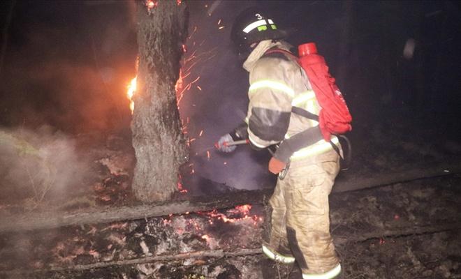 Rusya'da orman yangınları devam ediyor