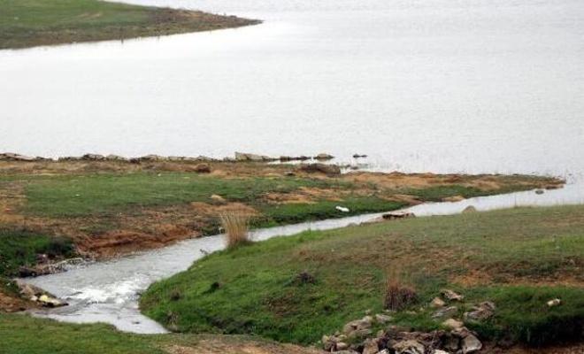 Edirne'de kuruyan baraja Meriç Nehri can suyu oldu