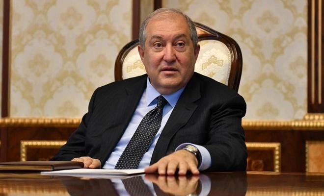 Sarkisyan, savaş esirleri için Putin'den yardım istedi