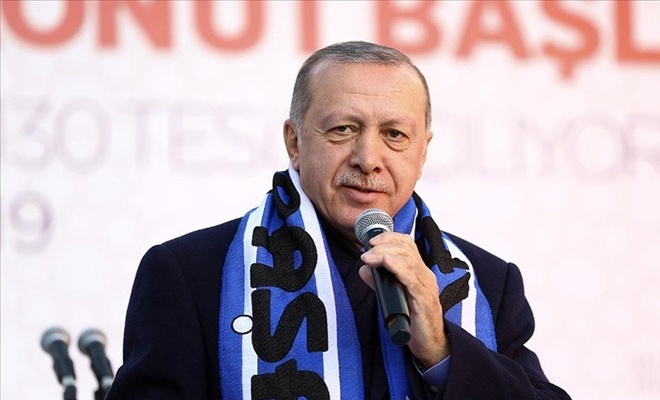 Cumhurbaşkanı Erdoğan'dan 50 bin sosyal konut  projesi