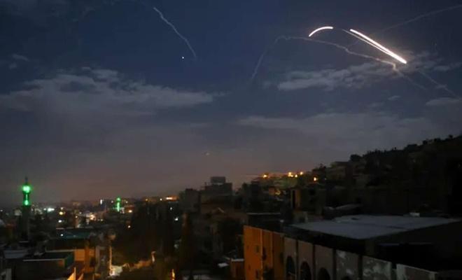 Siyonist işgal rejiminden Şam'a hava saldırısı
