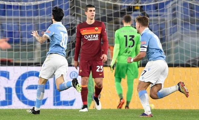 Roma derbisinde kazanan belli oldu