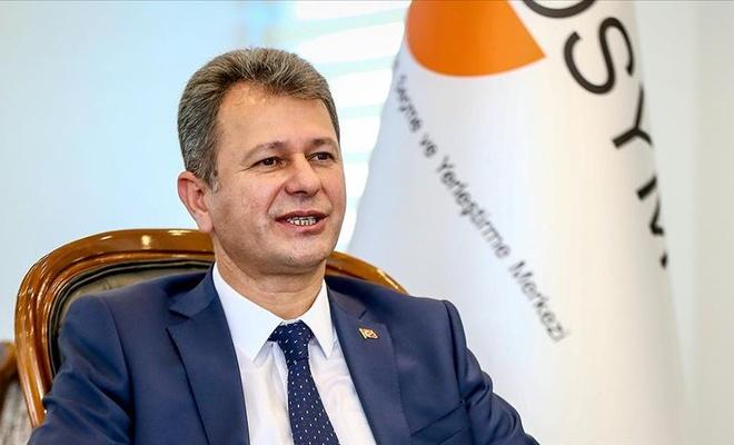 ÖSYM Başkanı Halis Aygün'den açıklama!