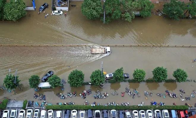 Çin'de sel felaketi: 33 kişinin cansız bedenine ulaşıldı