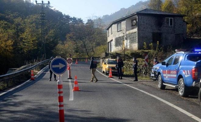 Trabzon'da karantinayı duyanlar kaçtı