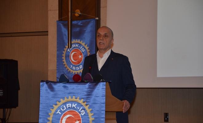 Türk-İş Başkanı asgari ücrette rakam verdi