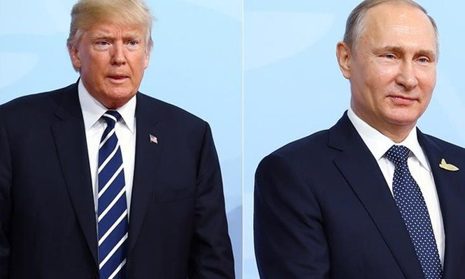 Trump - Putin görüşmesi