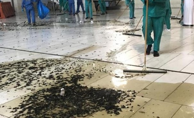 Pray could not be performed in Kaaba due to insect infestation