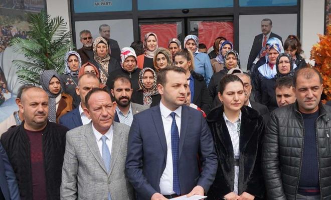 AK Parti Siirt İl Başkanlığından CHP'li Özkoç hakkında basın açıklaması