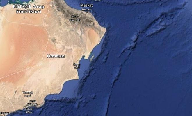 Umman açıklarında Siyonistlerin gemisine saldırı