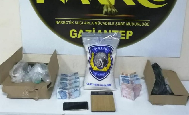 Gaziantep'te uyuşturucu operasyonu: 18 gözaltı