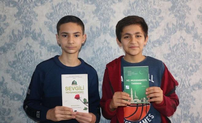 Sokağa çıkma kısıtlamasını fırsat bilen gençler Siyer Yarışması'na hazırlandı