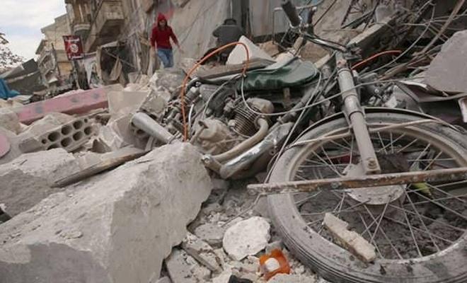 Rusya'nın İdlib'e hava saldırılarında 26 sivil yaşamını yitirdi