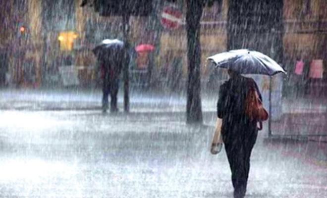 Meteoroloji etkili olacak yağışa karşı uyarılarda bulundu