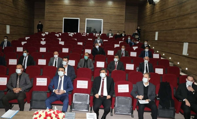 Siirt'te İstihdam ve Mesleki Eğitim Kurulu toplantısı yapıldı