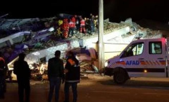 Elazığ'da meydana gelen şiddetli depremde 21 kişi hayatını kaybetti
