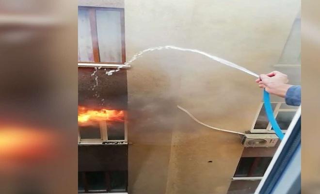 Çocukların evde çakmakla oyunu yangına neden oldu iddiası