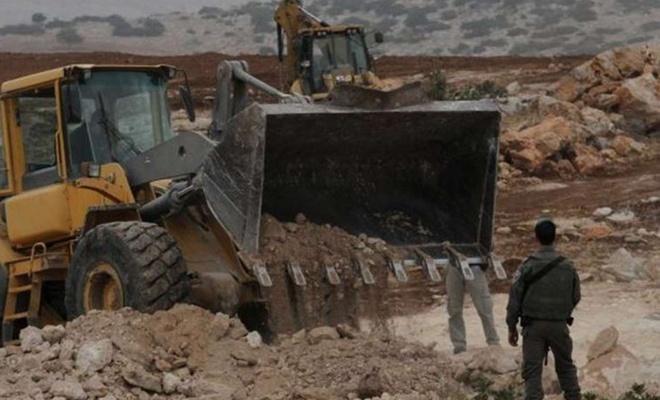 Siyonist işgalci rejim arazi gaspına devam ediyor