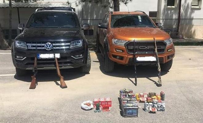 Kaçak avlanmada kullanılan 80 araça el konuldu