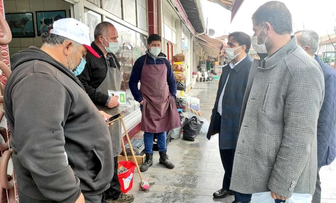 HÜDA PAR Eskişehir İl Başkanı'ndan Beylikova ve Mahmudiye ilçelerine ziyaret