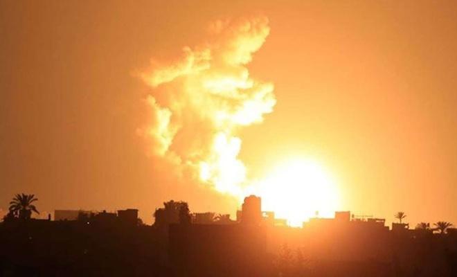 Siyonist işgal rejimi bir kez daha Gazze'ye saldırdı