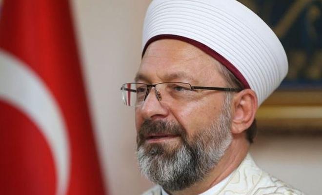 Diyanet İşleri Başkanı Erbaş: Din ile bilim arasında bir ayrışma söz konusu değil
