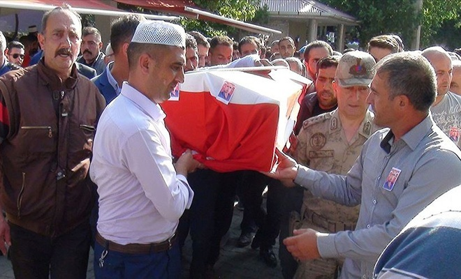 PKK 'nın katlettiği çobanın cenazesi toprağa verildi