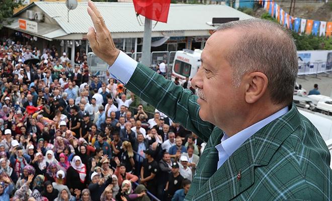 Cumhurbaşkanı Erdoğan: Batı tehdit sallıyor; biz tehdit mehdit dinlemeyiz