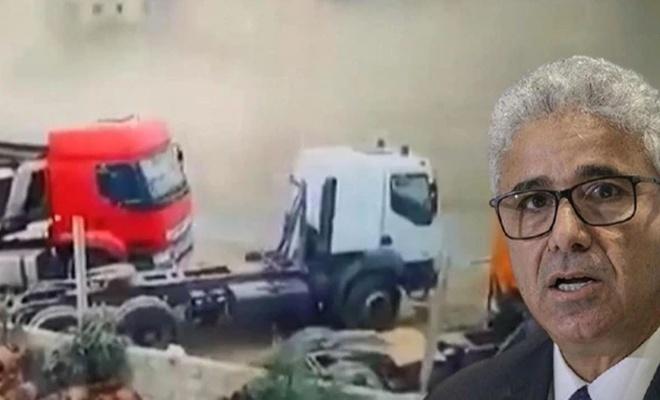 Libya İçişleri Bakanına suikast görüntüleri ortaya çıktı