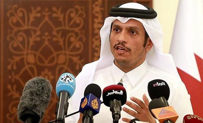 Katar: Batı Yaka'nın ilhakını kabul etmiyoruz, Filistin'e desteğe devam edeceğiz