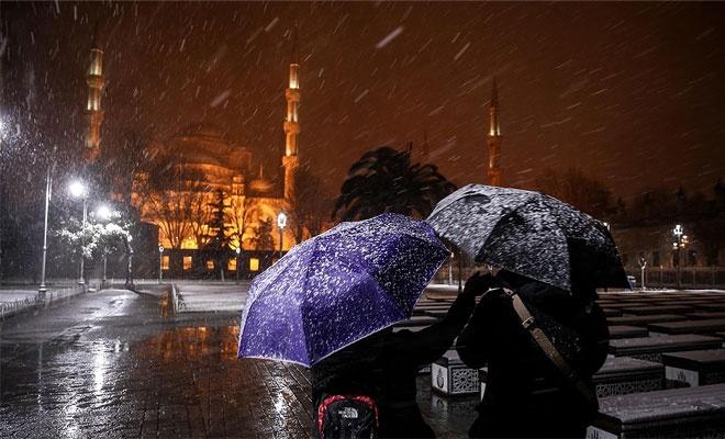 Kar yağışı devam ediyor.. İstanbul Valisi açıklama yaptı