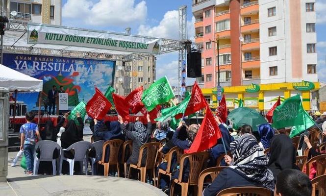 Sivas`ta Kutlu Doğum etkinliği düzenlendi