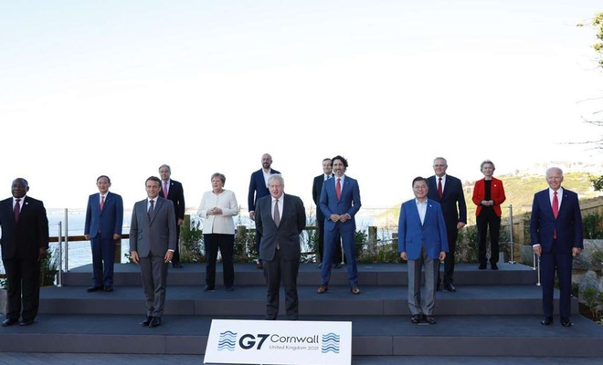 G7 Zirvesi bildirisi açıklandı