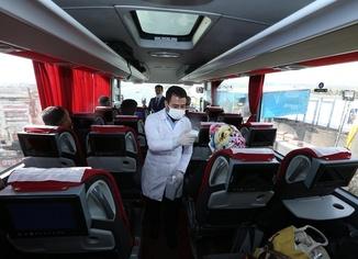 Seyahat kısıtlamasına uymayan yolculara para cezası verildi
