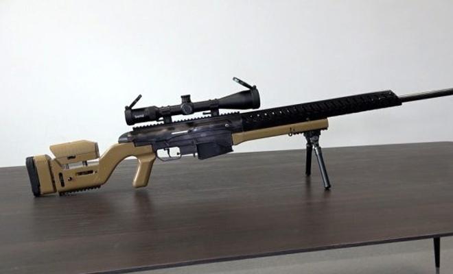 Yerli keskin nişancı tüfeği üretildi
