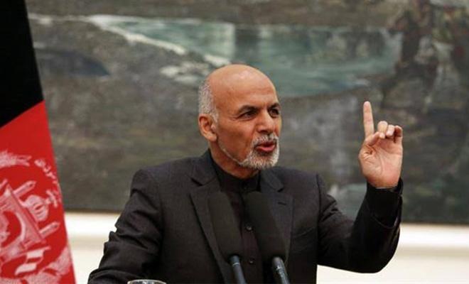 Afganistan Cumhurbaşkanı Eşref Gani'den sert açıklama