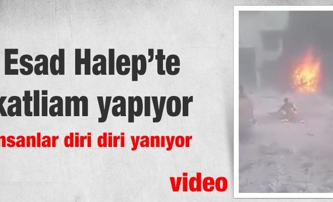 BM: Esad Halep`te katliam yapıyor