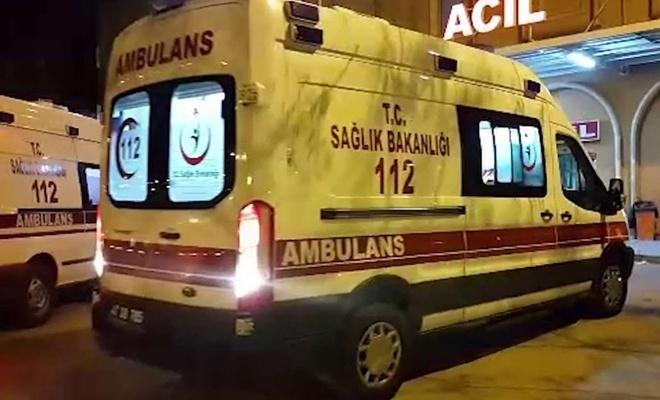 Yolcu otobüsü kaza yaptı: 30 yaralı