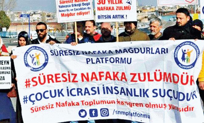 Süresiz nafaka mağdurları Ankara'ya yürüyecek