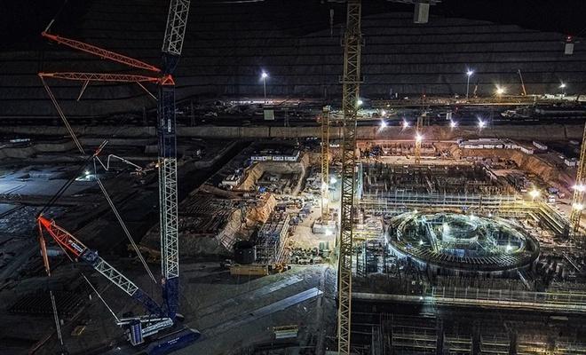 Akkuyu Nükleer Güç Santrali'nin 2020 yılı çalışmaları eksiksiz tamamlandı