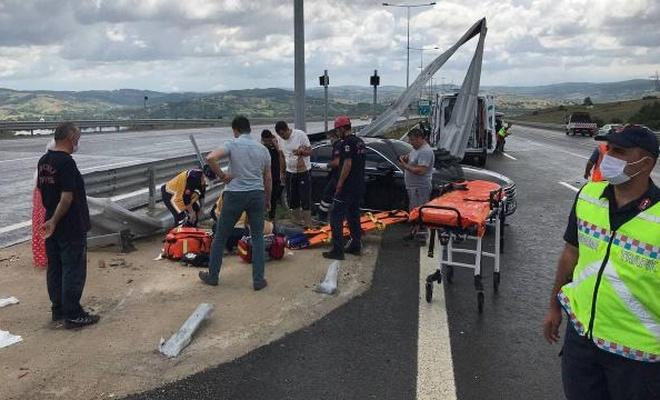 Kuzey Marmara Otoyolu'nda feci kaza: 1 ölü, 4 yaralı