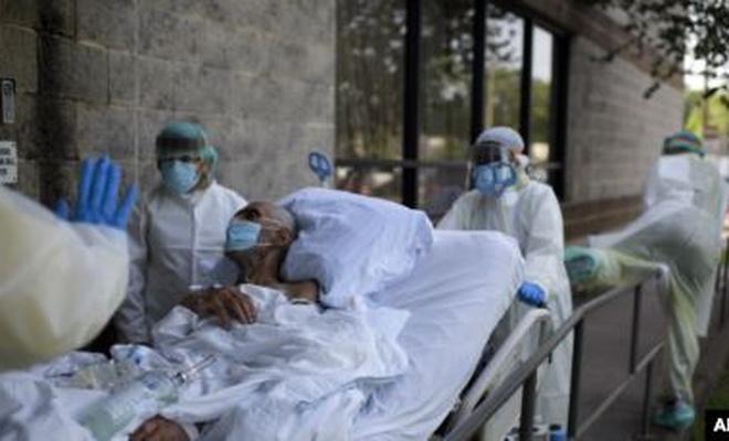 ABD'de son 24 saatte koronadan ölenleri sayısı açıklandı