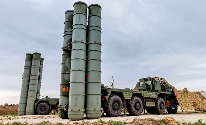 Turkey tests S-400 Russian defense system near the city of Sinop