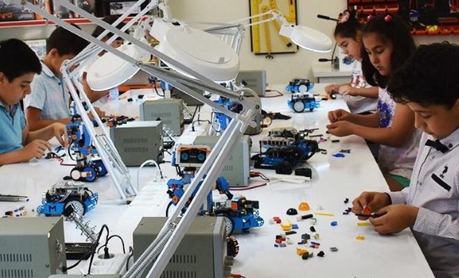 GASMEK`ten robotik kodlama kursu